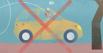 Vignette Interdiction devices au volant