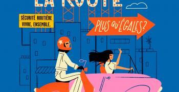 illustration Femmes au volant