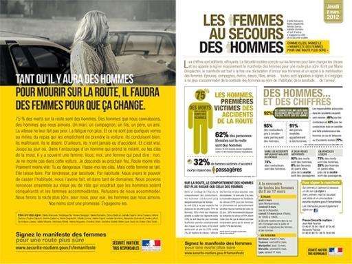 Affiche le manifeste des femmes