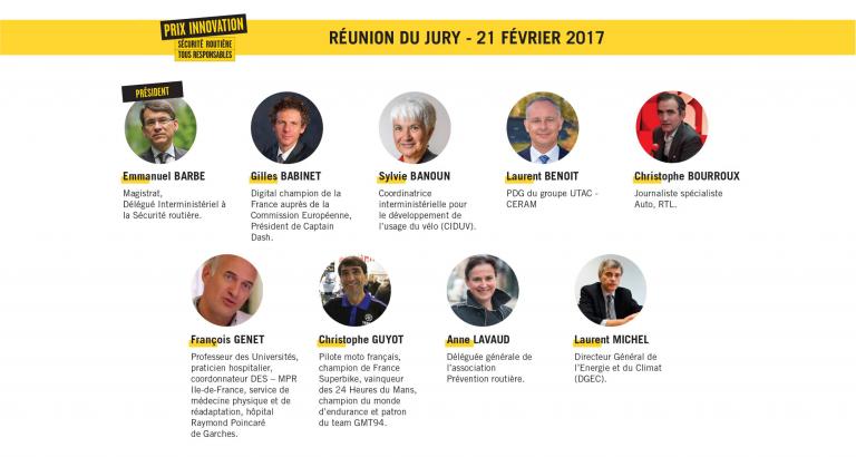 Jury prix innovation 2017