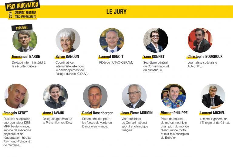 Jury prix innovation 2019