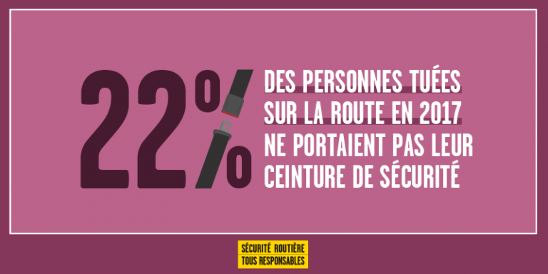 Port De La Ceinture De Sécurité Sécurité Routière