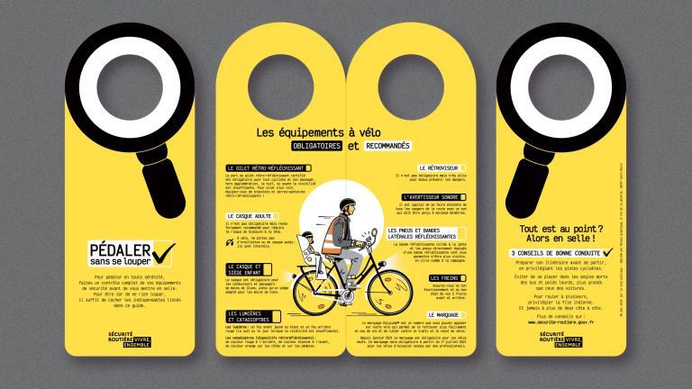 dépliant pédaler sans se louper Mai à vélo 2021