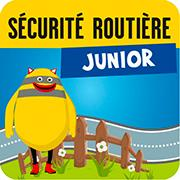Application Sécurité routière Junior - Logo